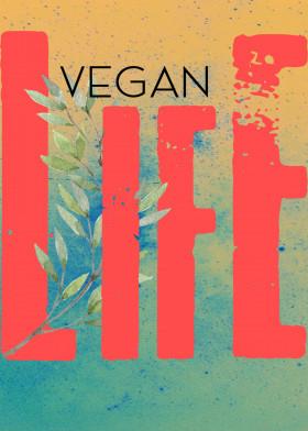 Vegan Life Displate