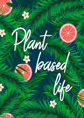 Plant Based Life Displate