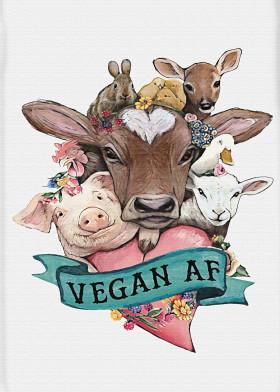 Vegan AF Displate