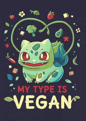 My Type is Vegan Displate