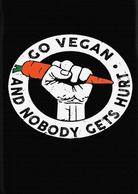 Go Vegan Displate