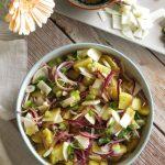 Vegan Potato Salad with Radish & Balsamic Vinaigrette