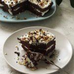 Protein-Packed Vegan Chocolate Fudge Cake