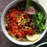 Chili Sin Carne with Brown Rice