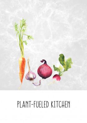 Plant-Fueled Kitchen Displate