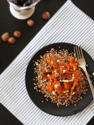 Roasted Butternut Squash with Buckwheat ready to eat