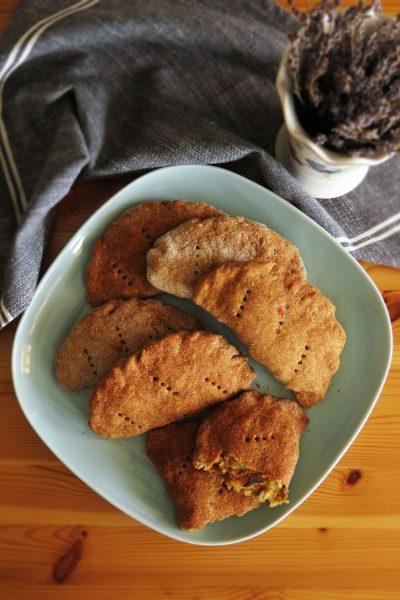 Whole-Wheat Potato & Mushroom Pies