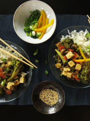 Tofu and Veggies Coconut Curry