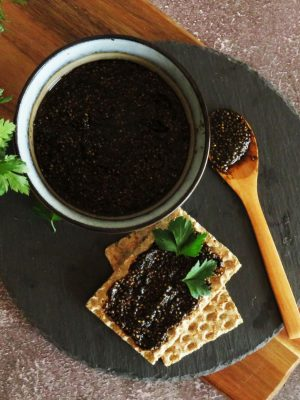 Vegan 'Caviar' Recipe with Seaweed